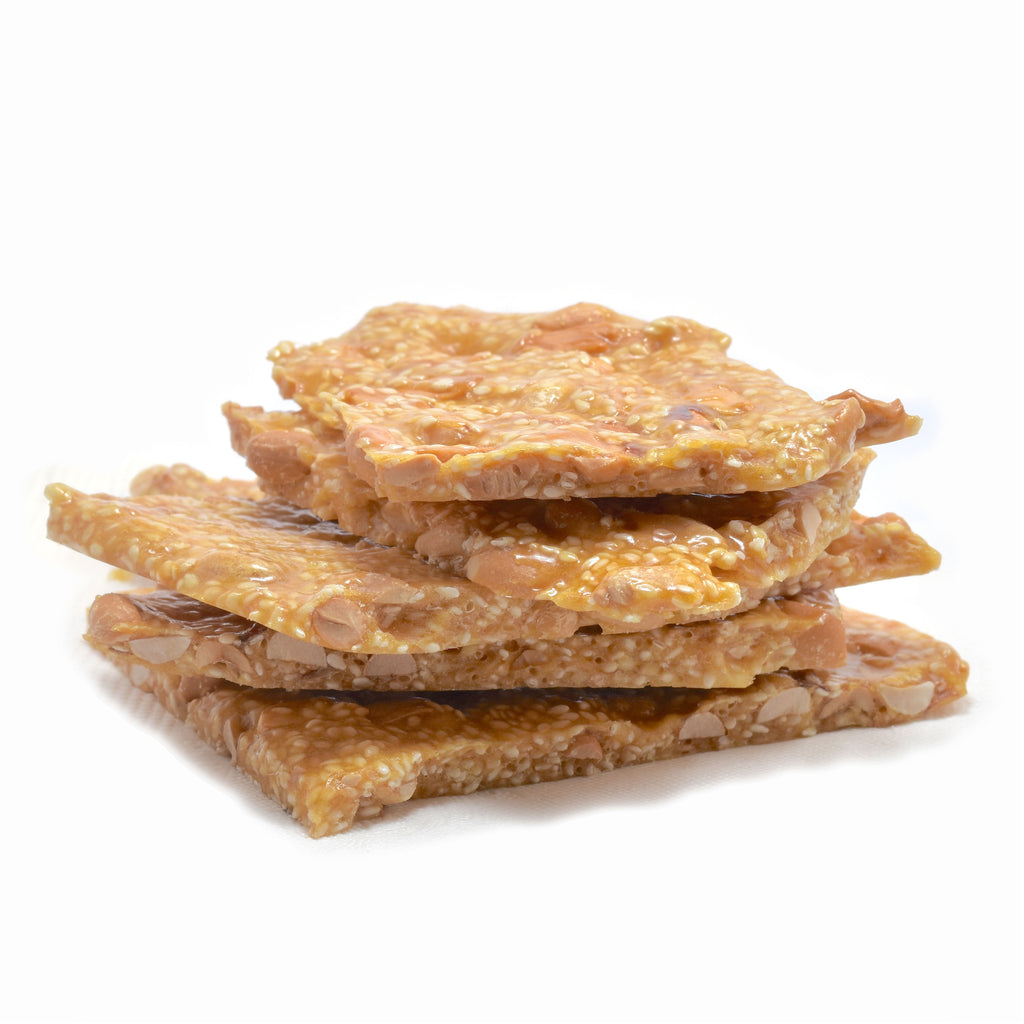 Treat Confectionery Sesame Peanut Brittle