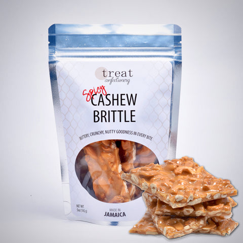 Treat Confectionery Spicy Cashew Brittle