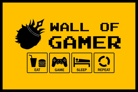 Wall Of Gamer