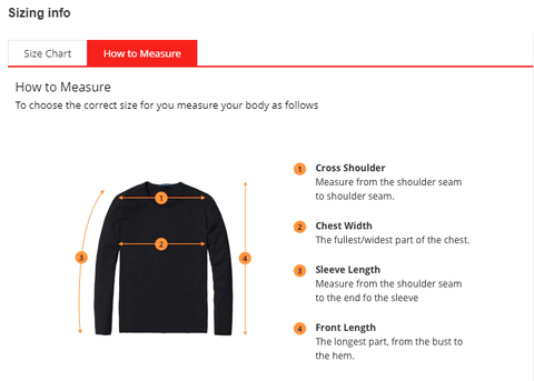 how to measure endgame hoodie