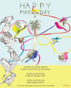May Day Art Print - Root and Star