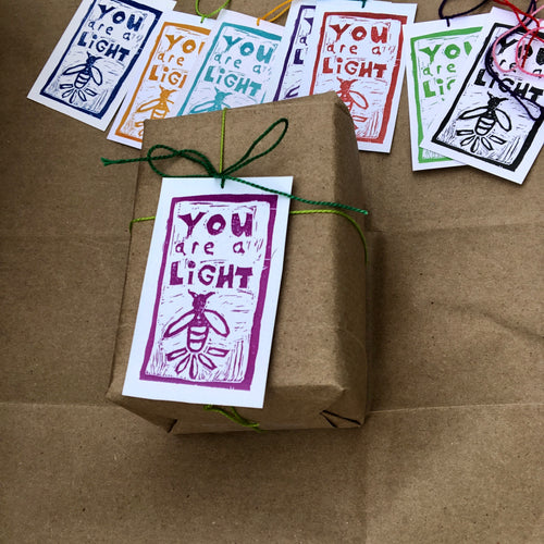 Gift Tags: You Are a Light! - Root and Star
