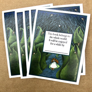 Bookplates: Evergreen Kin by Aimee Hagerty Johnson - Root and Star