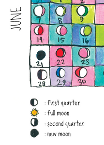 2020 Lunar Calendar: Moon Poem! - Root and Star