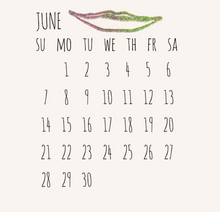 Plant Music! 2020 Wall Calendar - Root and Star