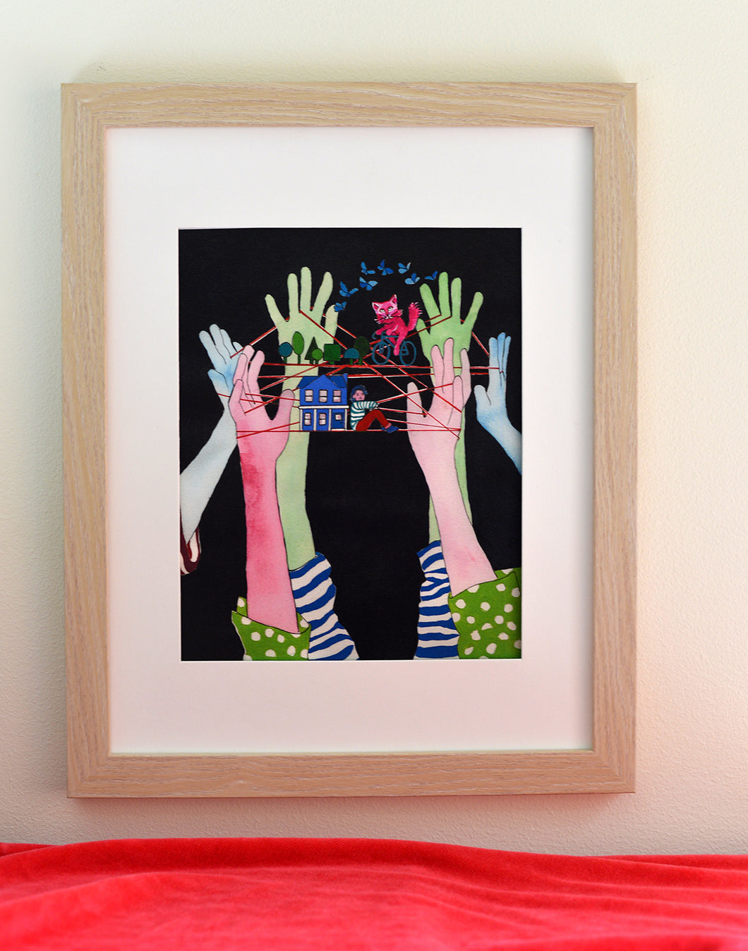 Hands art print by Abbi Israelsen - Root and Star