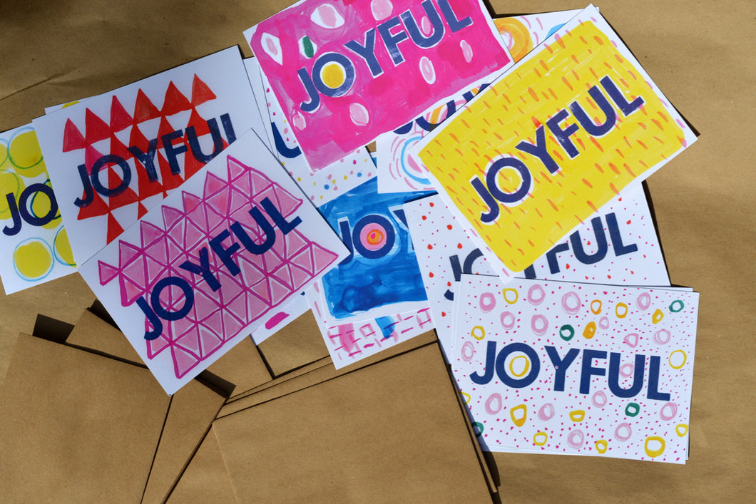 Joyful Cards - Root and Star