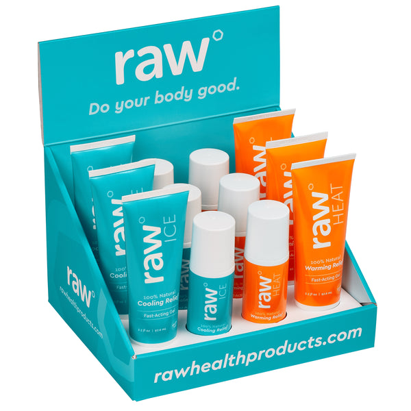 raw gel counter display - 12 Pieces