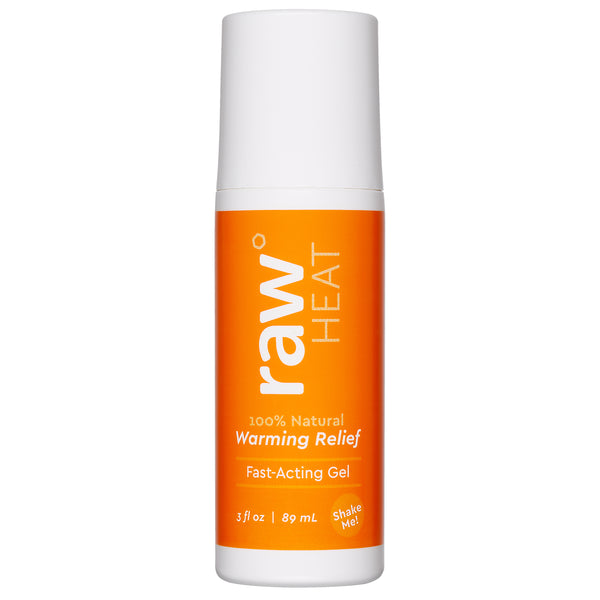Raw® HEAT gel 3oz roll on