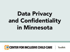 Data Privacy and Confidentiality in Minnesota