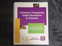 Inclusion: Frequently Asked Questions & Answers Booklet