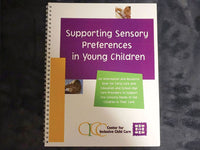 Supporting Sensory Preferences in Young Children Booklet (eDelivery)