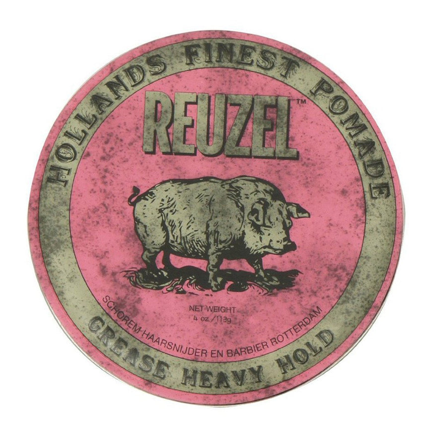Pink Pomade 'Heavy Hold' 4oz - Reuzel