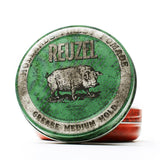 Reuzel - Green Pomade 'Fijación Media' 4oz