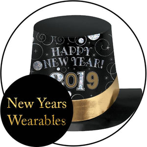 New Years Hats, Tiaras, and Wearables