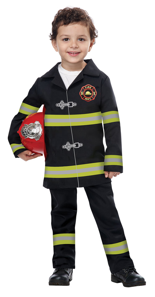 Kids Toddler Jr. Fire Chief Costume