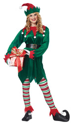 Adult Christmas Elf Costume - Unisex