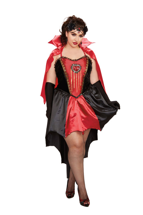 Dreamgirl Plus Size Drop Dead Beautiful Costume