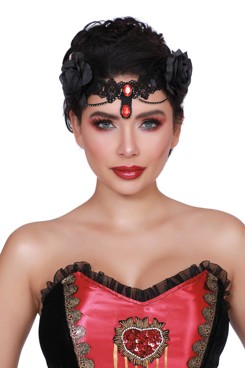 Drop Dead Gothic Headpiece