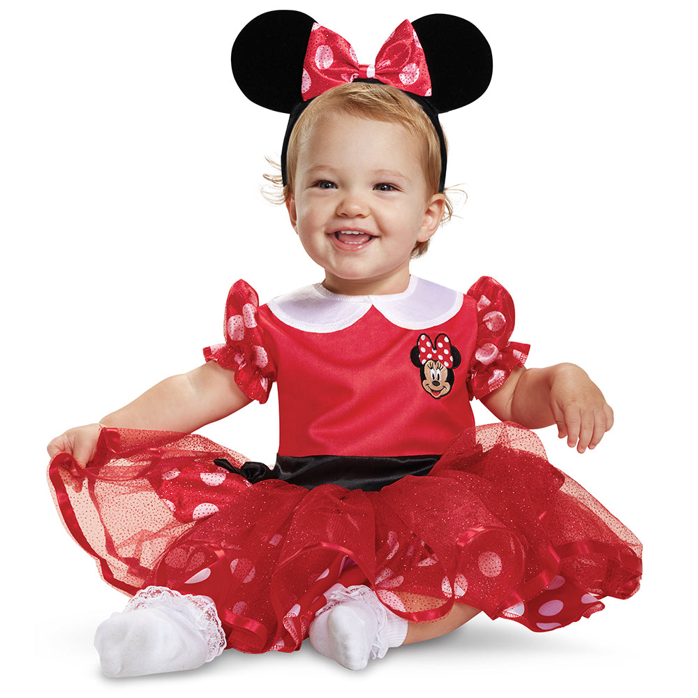 Toddler Girls Minnie Mouse Costume