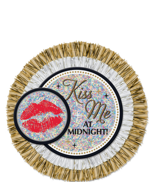 Kiss Me at Midnight Jumbo Button