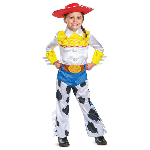 Girls Deluxe Jessie Costume - Toy Story 4