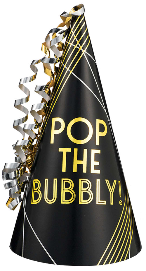 Pop the Bubbly Party Hat