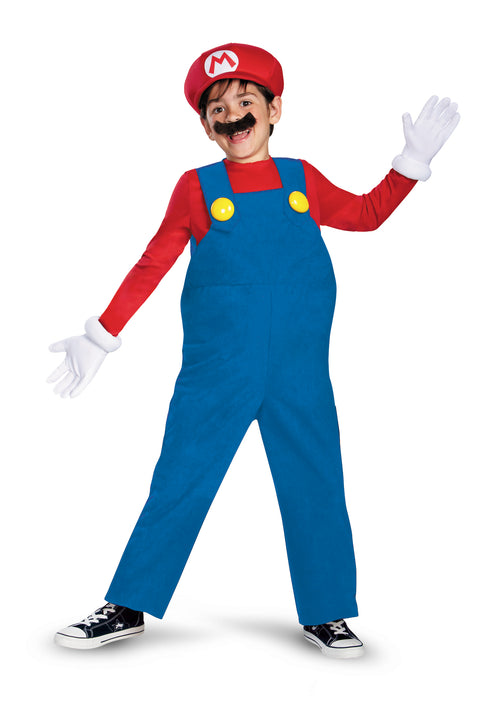 Boys Deluxe Mario Costume - Super Mario Bros.