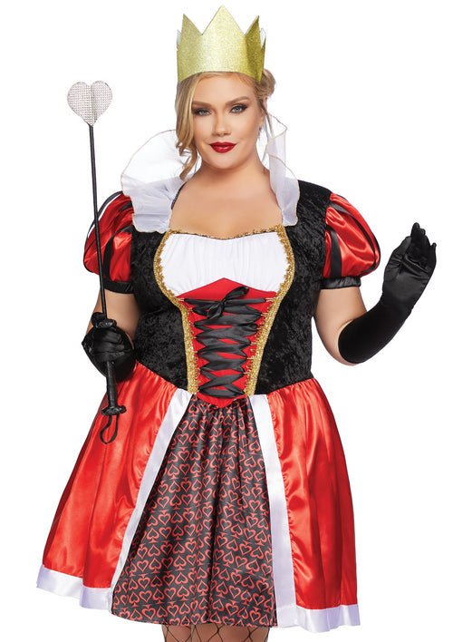 Plus Size Wonderland Queen Costume