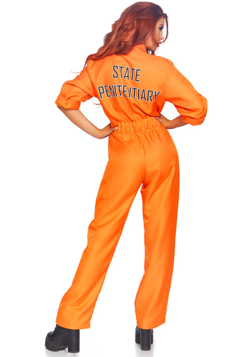 Orange Prison Jumpsuit Costume