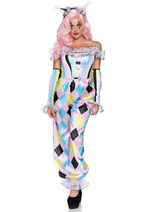 Pretty Parisian Clown Costume
