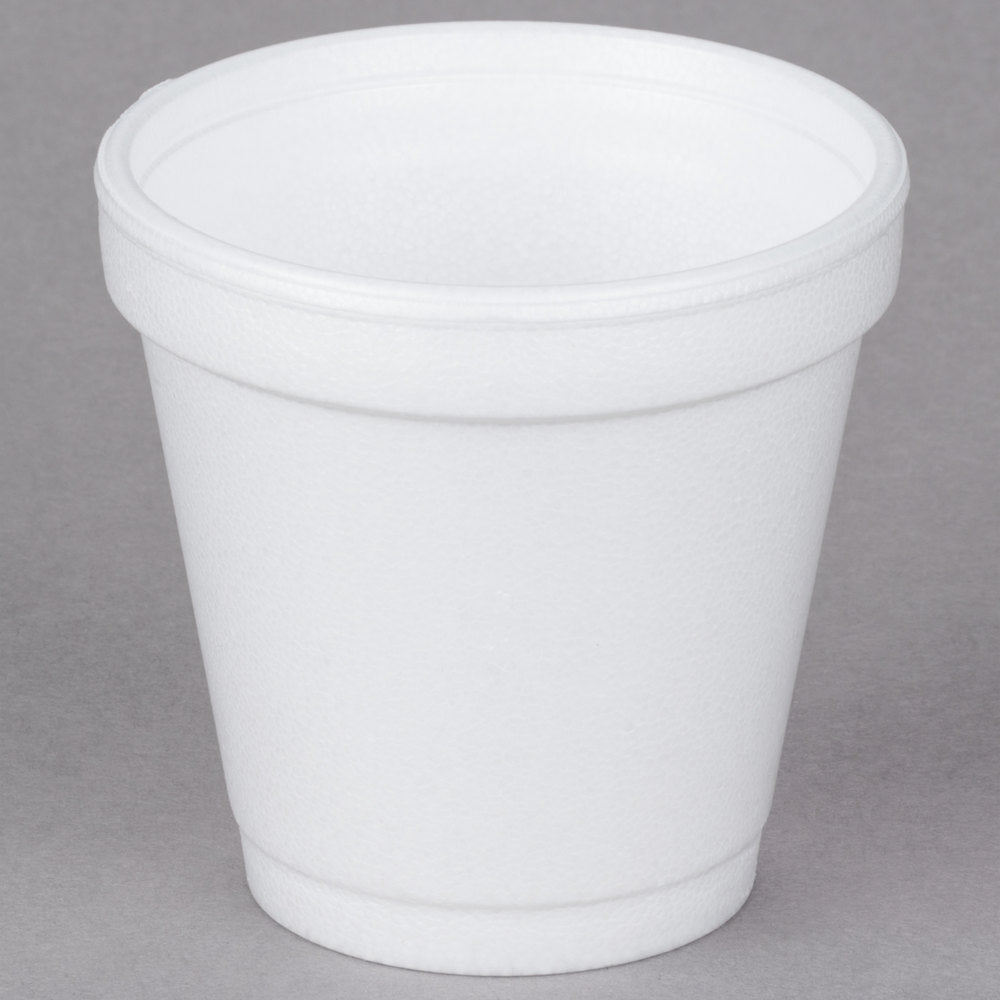 Dart 4J4 4 oz. White Foam Cup - 50/Pack
