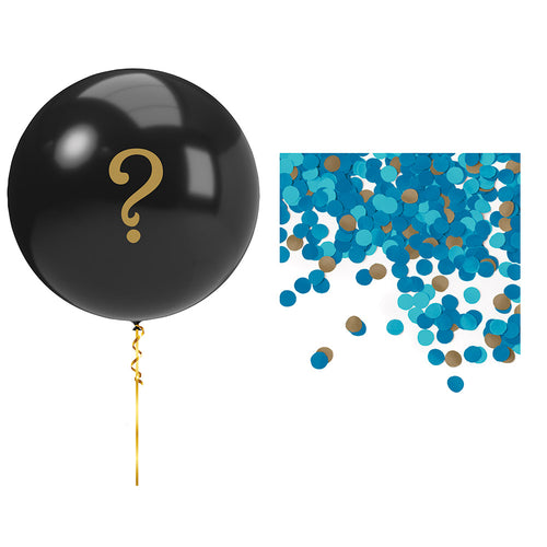 Boys Giant Gender Reveal Balloons Blue Gender Reveal
