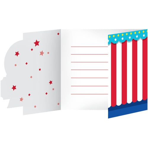 Circus Party Invitations 8ct