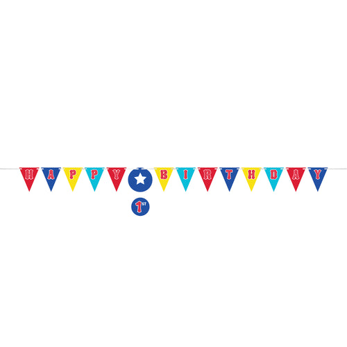 Circus Party Ribbon Banner