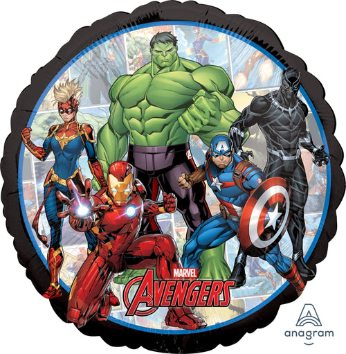 "Avengers Powers Unite Mylar 17"" Balloon"