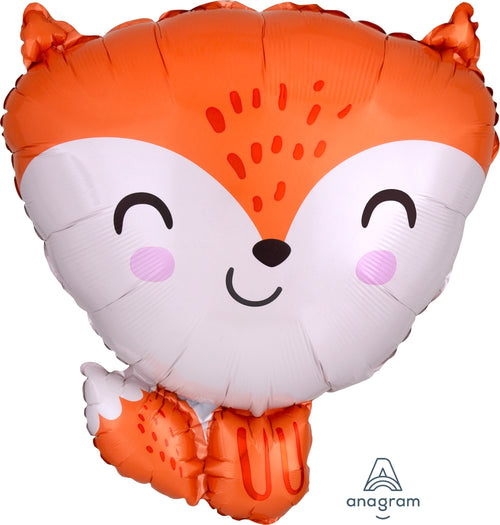 Fox Mylar Balloon 18""