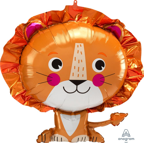 Jumbo Lion Balloon 24""