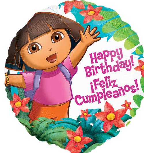 Dora the Explorer Mylar Birthday Balloon 18""