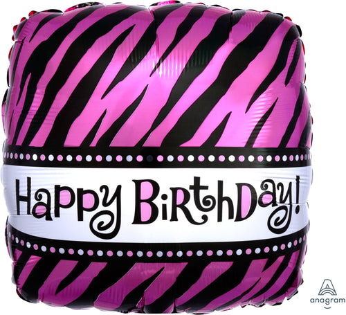 Oh So Fab Mylar Birthday Balloon 18""