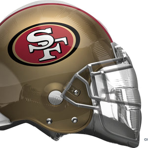 San Francisco 49ers Balloon - Helmet