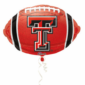 Texas Tech Mylar Balloon 18""