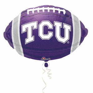 TCU Horned Frogs Mylar Balloon