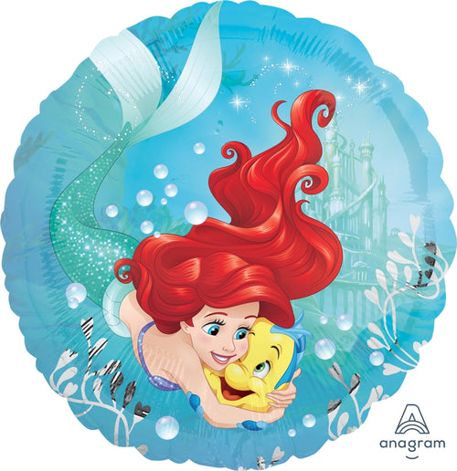 Ariel Dream Big Mylar Balloon 18""
