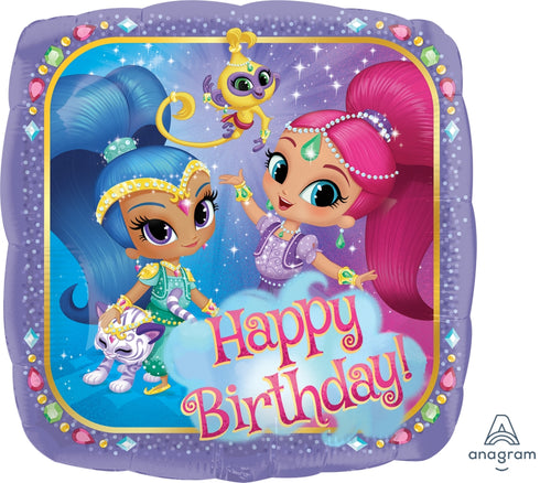 "Shimmer & Shine Mylar 18"" Balloon"