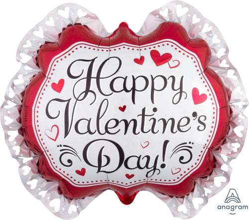 Happy Valentine's Day Marquee Balloon 30""
