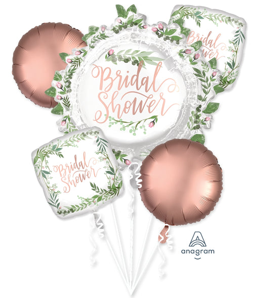 Love Leaves Bridal Shower Balloon Bouquet