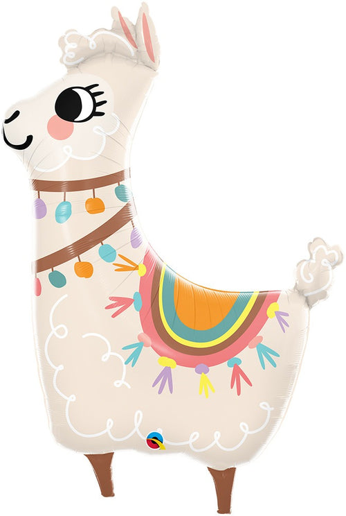 Loveable Llama Jumbo Balloon 45""