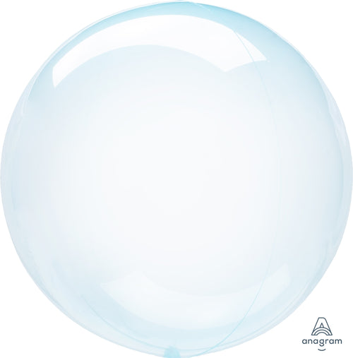 Clear Blue Balloon - Crystal Clearz