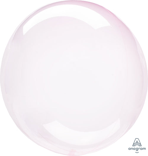Clear Pink Balloon - Crystal Clearz